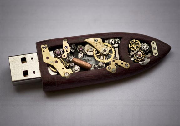 steampunk-flashdrive